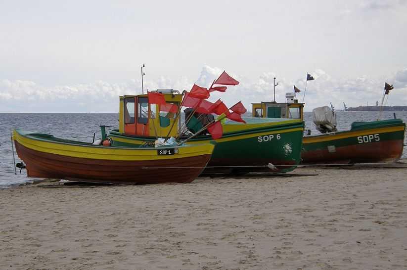 Przystań rybacka w Sopocie